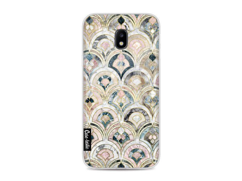 Casetastic Softcover Samsung Galaxy J3 (2017) - Art Deco Marble Tiles