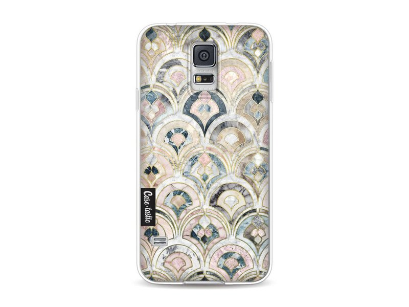 Casetastic Softcover Samsung Galaxy S5  - Art Deco Marble Tiles