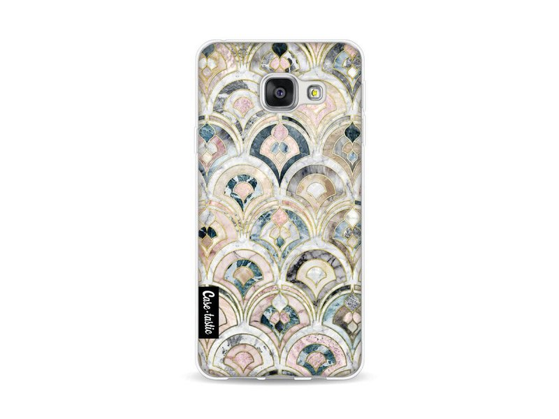 Casetastic Softcover Samsung Galaxy A3 (2016) - Art Deco Marble Tiles