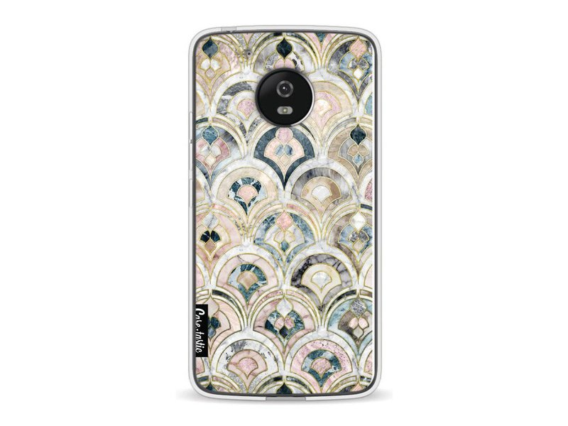 Casetastic Softcover Motorola Moto G5 - Art Deco Marble Tiles
