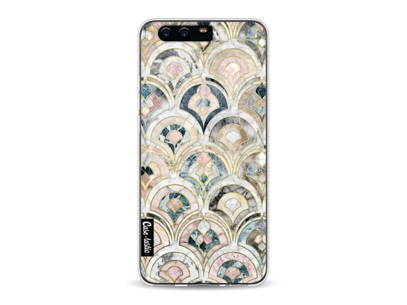 Casetastic Softcover Huawei P10 - Art Deco Marble Tiles