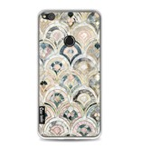 Casetastic Softcover Huawei P8 Lite (2017) - Art Deco Marble Tiles