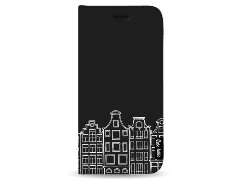 Casetastic Wallet Case Black Samsung Galaxy Note 8 - Amsterdam Canal Houses White