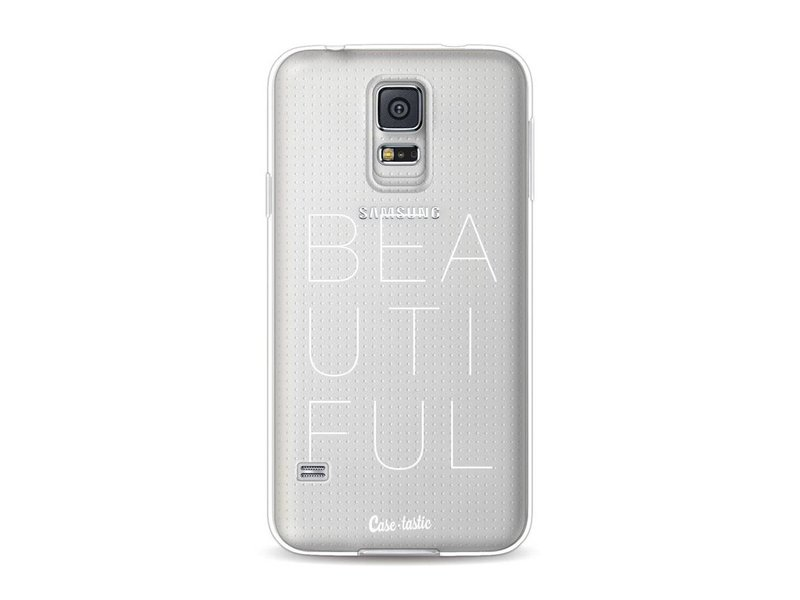 Casetastic Softcover Samsung Galaxy S5  - Beautiful