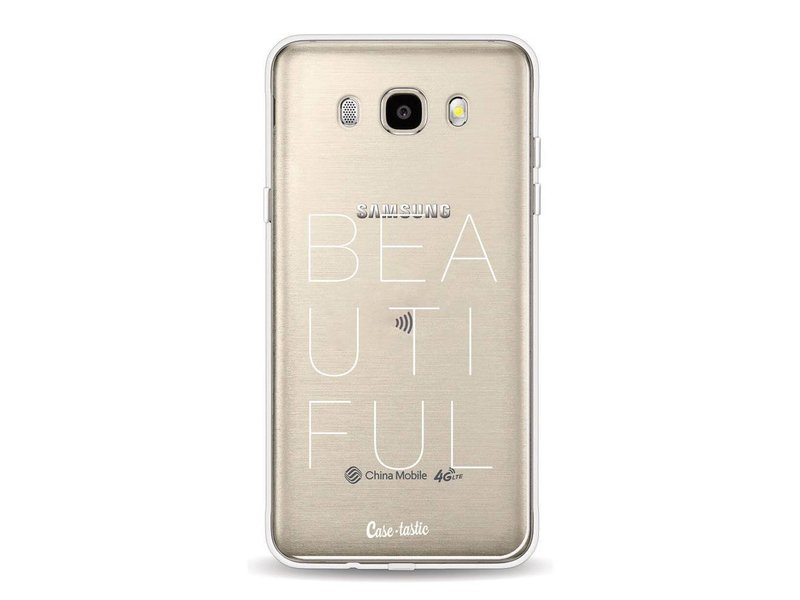 Casetastic Softcover Samsung Galaxy J5 (2016) - Beautiful