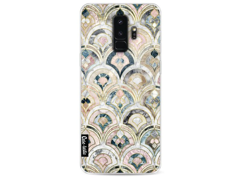 Casetastic Softcover Samsung Galaxy S9 Plus - Art Deco Marble Tiles