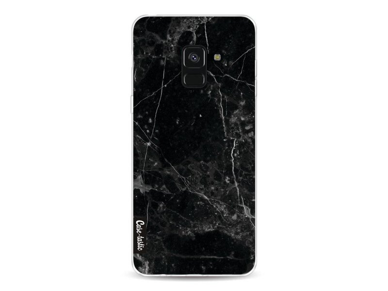Casetastic Softcover Samsung Galaxy A8 (2018) - Black Marble