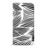 Casetastic Wallet Case Black Samsung Galaxy J3 (2017) - Wavy Outlines