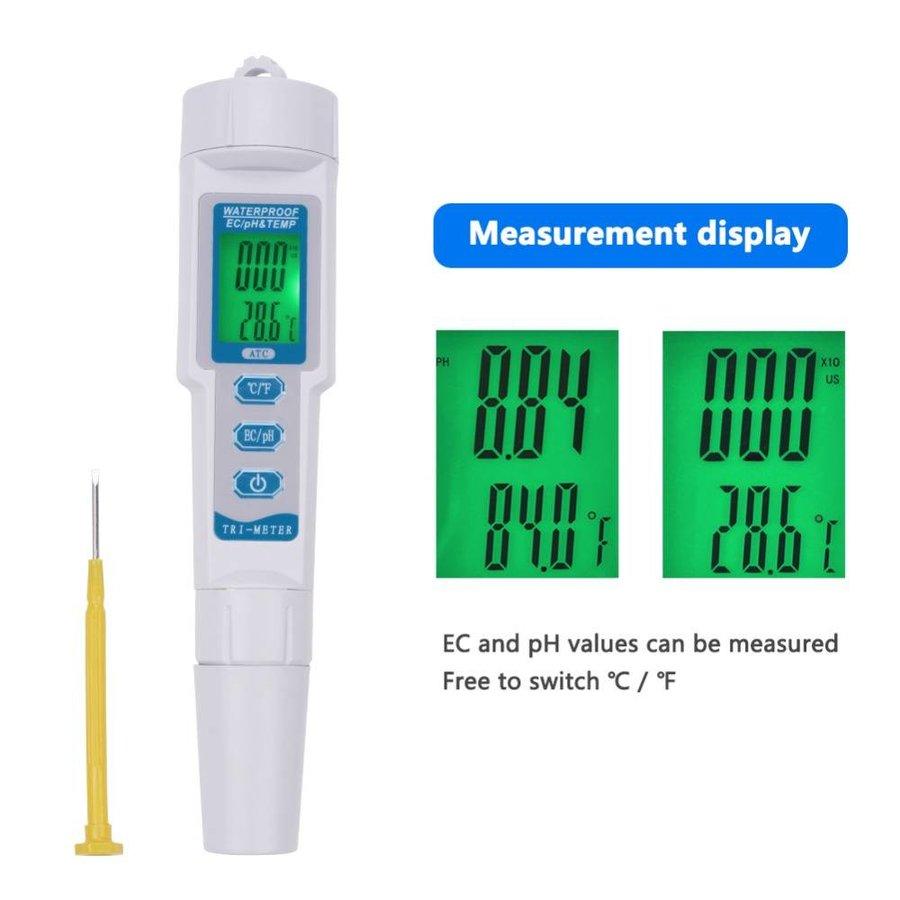 PH/EC Combo Mètre | Testeur Combo PH/EC