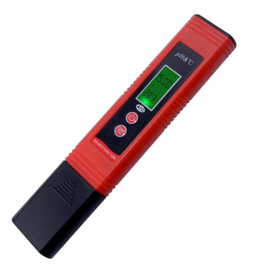 Digital 2in1 pH meter with automatic calibration