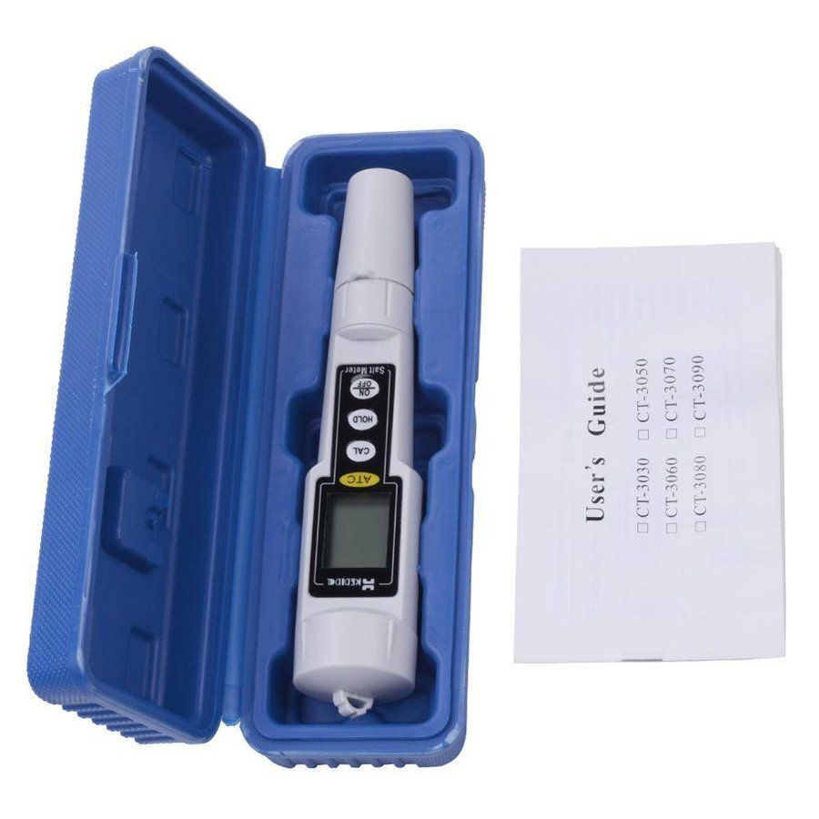 Salzmessgerät für Pool, Wasseranalyse ...