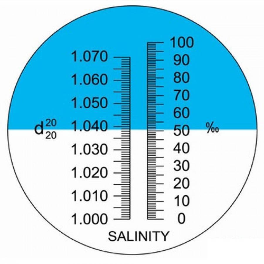 Salz Refraktometer für Riffaquarium, Meerwasser...