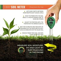 Boden-pH-Meter 3in1