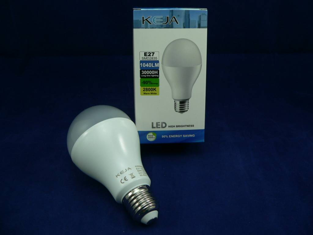 Led Lampen E27 : Led lampe von keja in birnen tropfenform 13w e27 220v 1040lm
