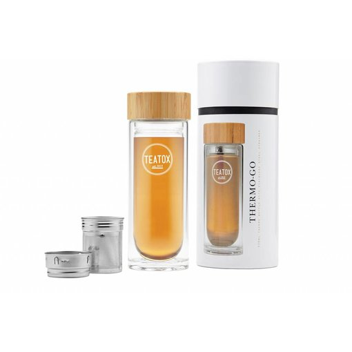Teatox Thermo-Go Thermofles met RVS filter