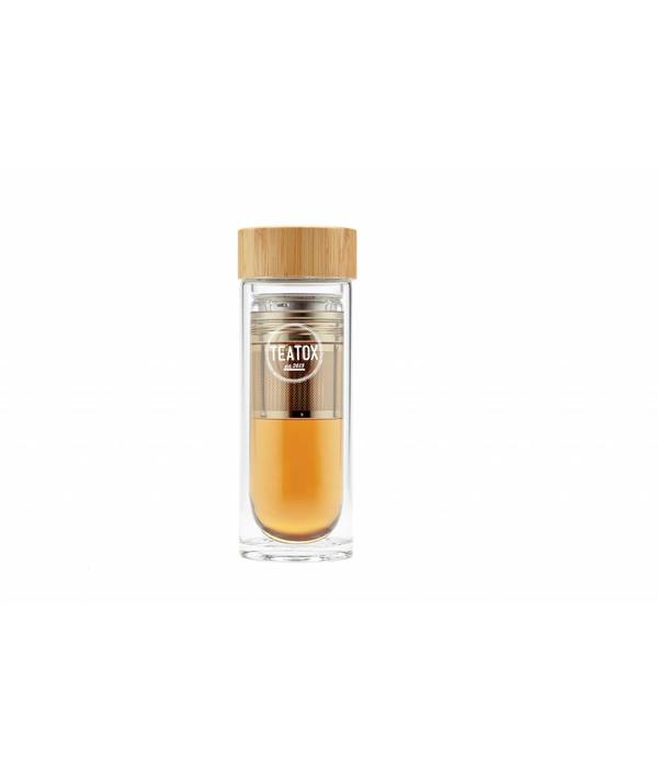 Teatox Thermo Go Thermofles met RVS filter 330ml