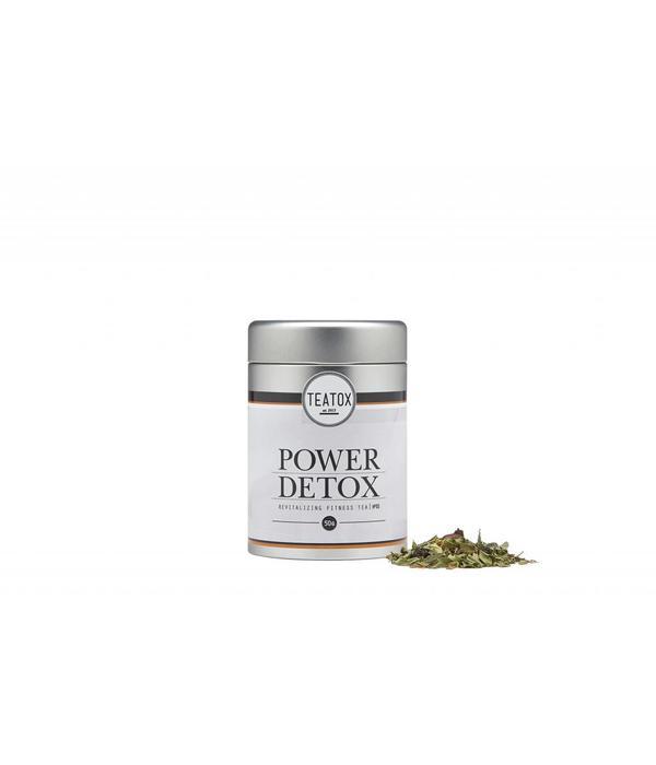 Teatox Power Detox Bio Green Tea Guarana 50g