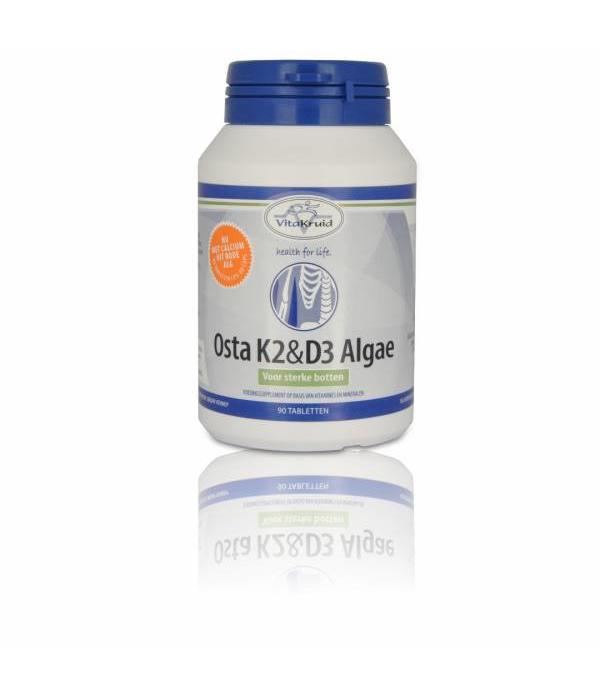 Vitakruid Osta K2 & D3 Algae - Voor sterke botten