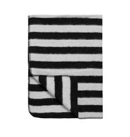 Meyco Stripe Zwart Wit