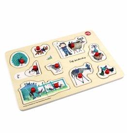 Ikonic Toys Fiep Westendorp Puzzel - dieren