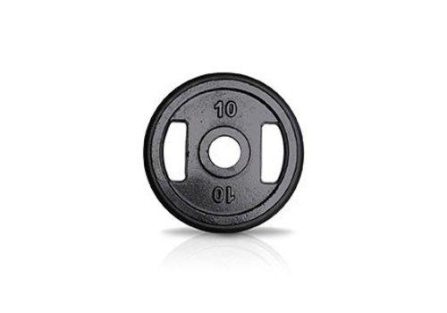 10kg schijf ijzer met rubberen ring met handgrepen 50mm