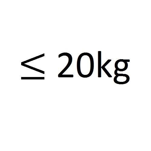 tot 20kg