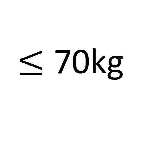 tot 70kg