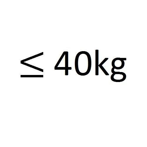 tot 40kg
