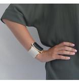 Lucenti Chique goudkleurige klemarmband in vlinder design