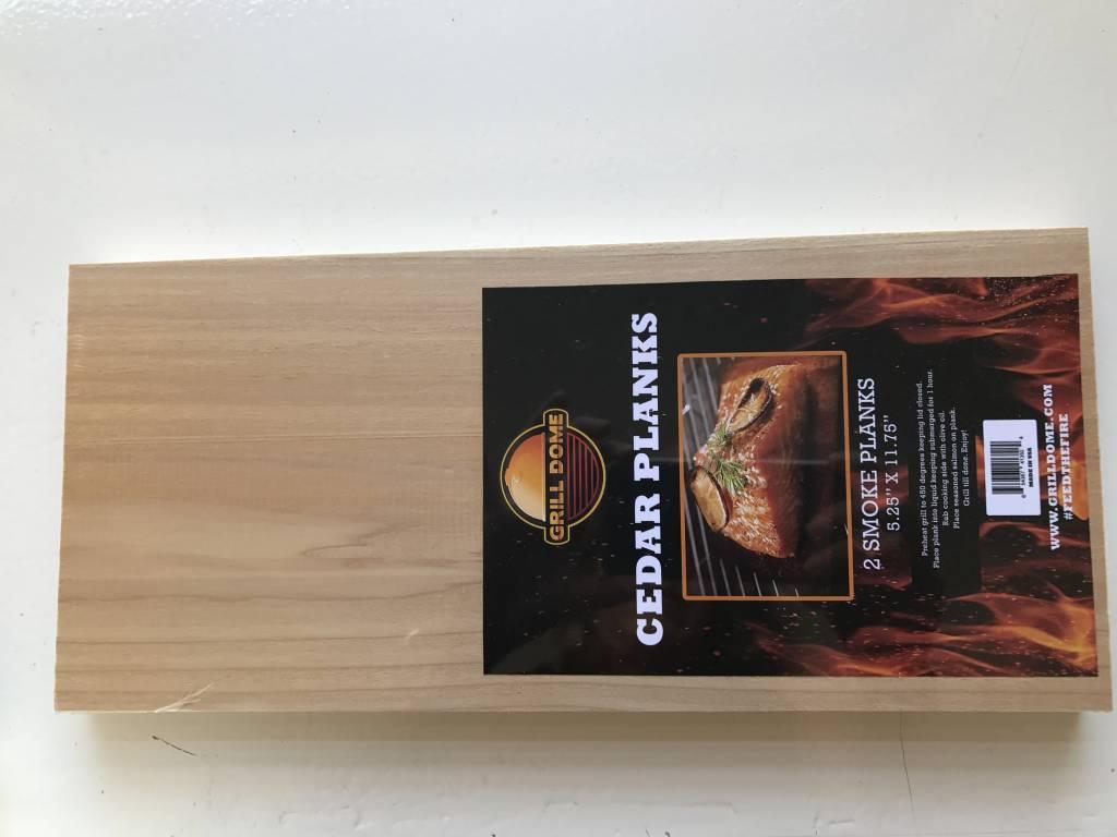 Cederhouten grill plankjes