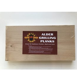 Elzenhouten grill plankjes