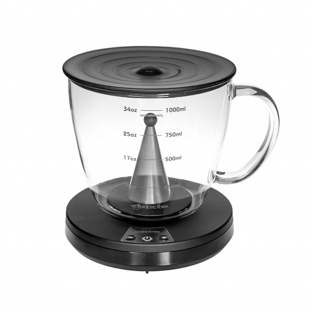 coffee tac 1 0 kaffeefilter mit zeituhr perfekter. Black Bedroom Furniture Sets. Home Design Ideas