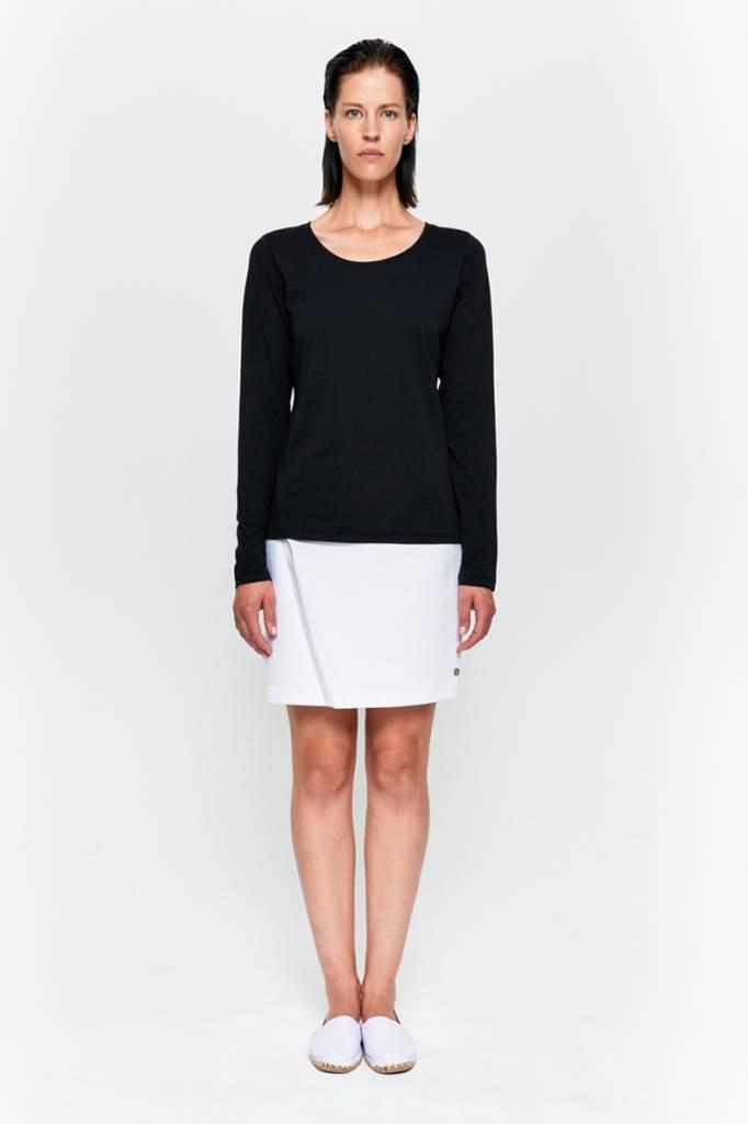 Basic Langarm-Shirt