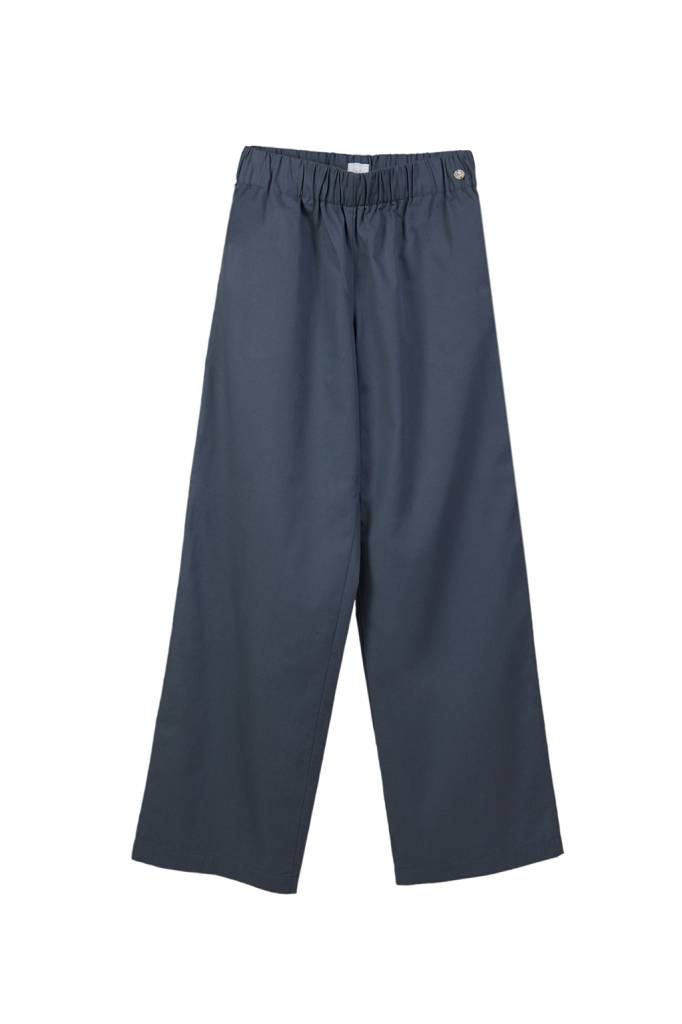 Marlene trousers made of organic cotton anthracite