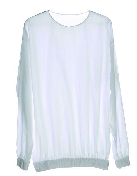 Batist-Langarm-Shirt