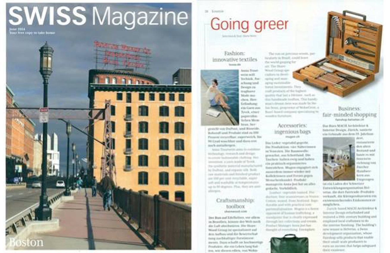 swiss magazine Luxaa