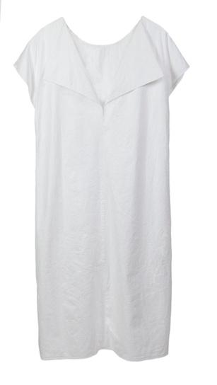 Tyvek® Kleid mit Rückendetail