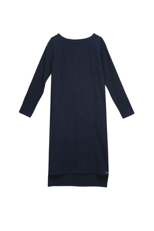 Flanell Kleid mit Passe