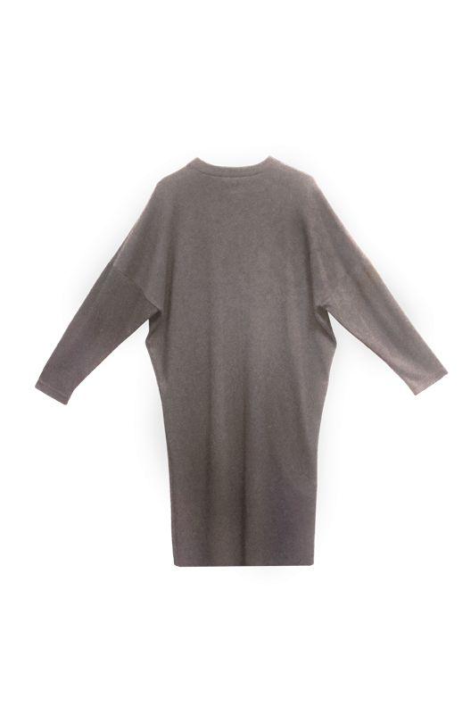 Oversize Kleid aus Bio-Jersey
