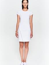 Basic t-shirt in organic cotton white