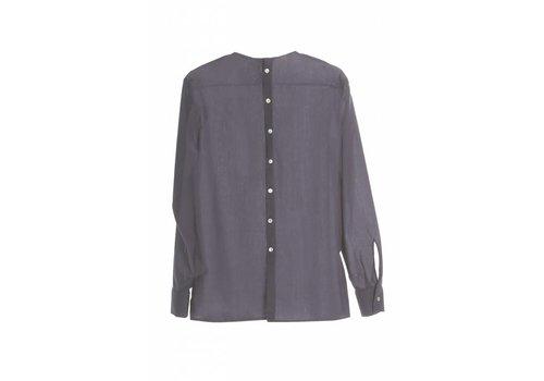 Langarm-Shirt mit Rückendetail powder