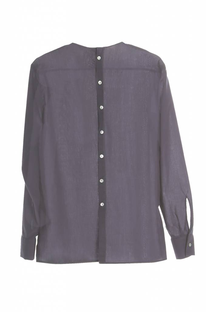 Long sleeve shirt with back detail powder