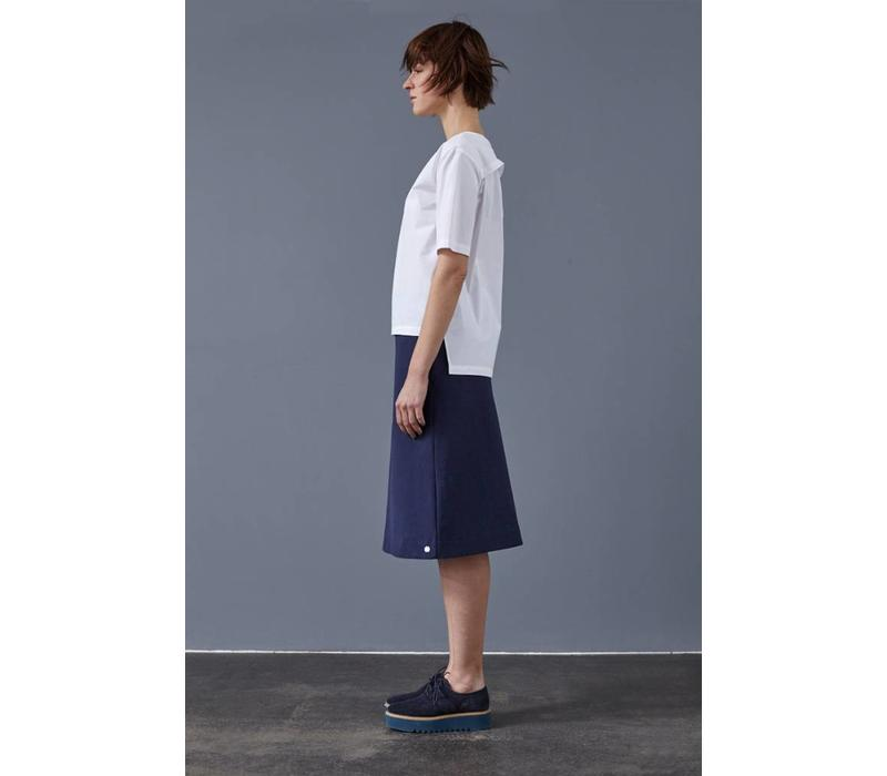 Skirt made from organic cotton fleece - Copy
