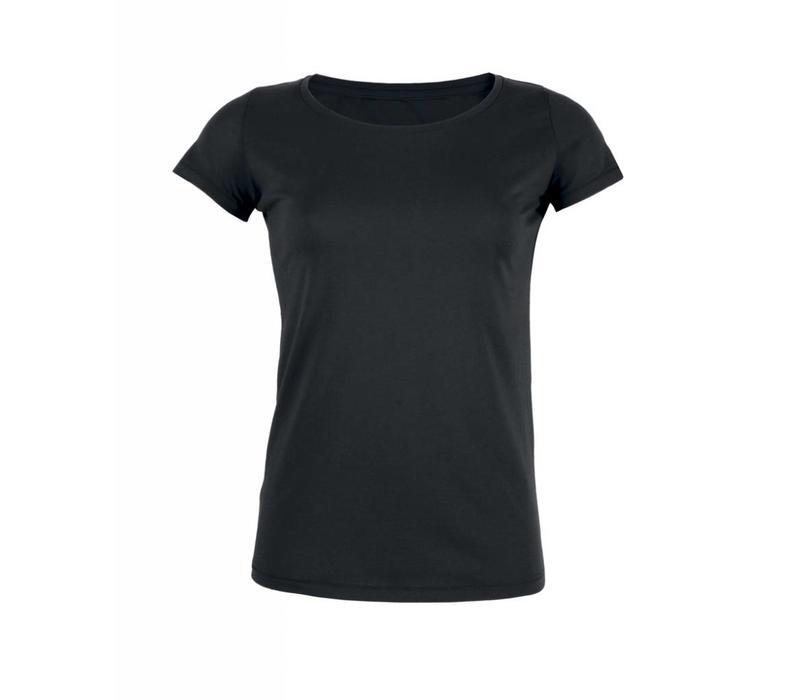Basic T-Shirt aus Bio-Baumwolle - Schwarz