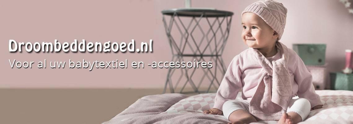 Droombeddengoed; voor uw kinderdekbed, babytextiel en accessoires