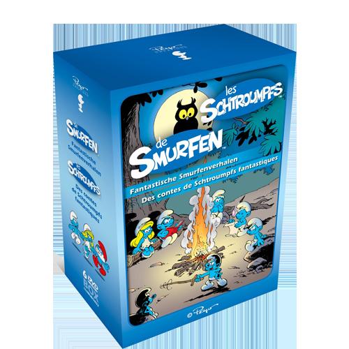 De Smurfen DVD box