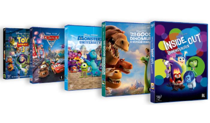 Disney - Pixar dvd collectie