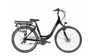 Elektrische fiets met voormotor