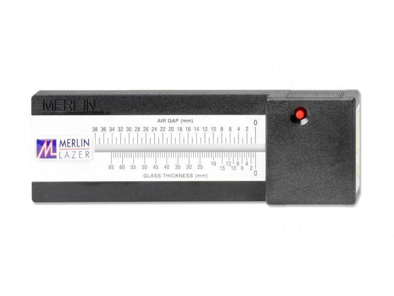 Merlin Lazer glasdiktemeter