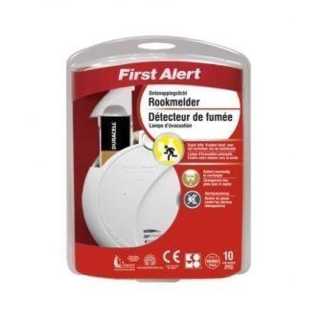 First Alert First Alert optische rookmelder met ontsnappingslicht